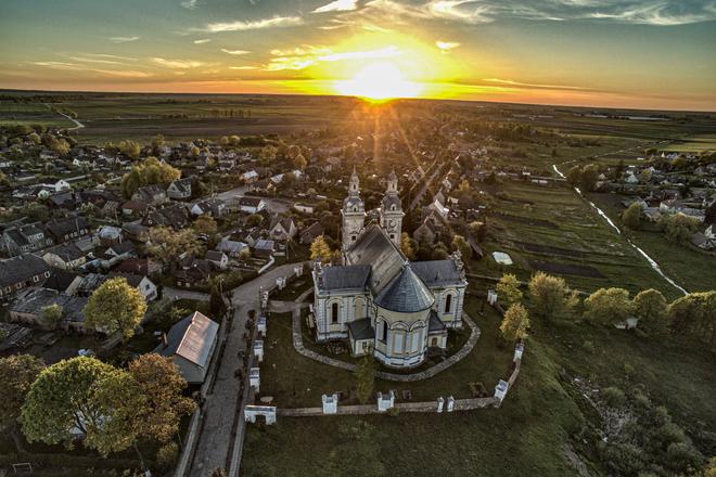 ŠEDUVA  CHURCH OF ST CROSS DISCOVERY